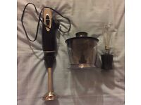 [VERY GOOD CONDITION]: set of FRUIT AND BAKING BLENDER + set of DESSERT CUPS = £19.00