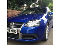 Golf R32 Mark 5 - manual 6 speed - blue. 2 owners from new.