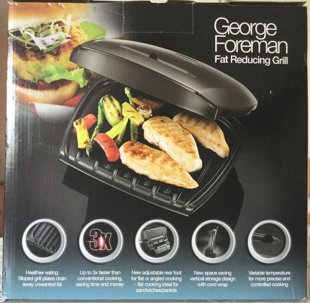 Fat Reducing Grill & Three Tier Food Steamer