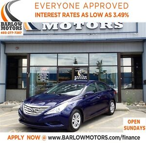 2013 Hyundai Sonata GLS*EVERYONE APPROVED* APPLY NOW DRIVE NOW.