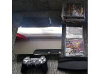 RARE PS3 SLIM CONSOLE 500GB & 40+ GAMES