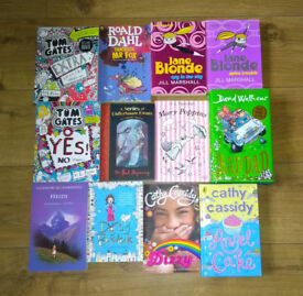 Children's Books - 12 books - good condition (ages 8-14 approx)