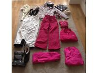 Complete Ski Outfit- girls age 9/11 - Worn once on school trip