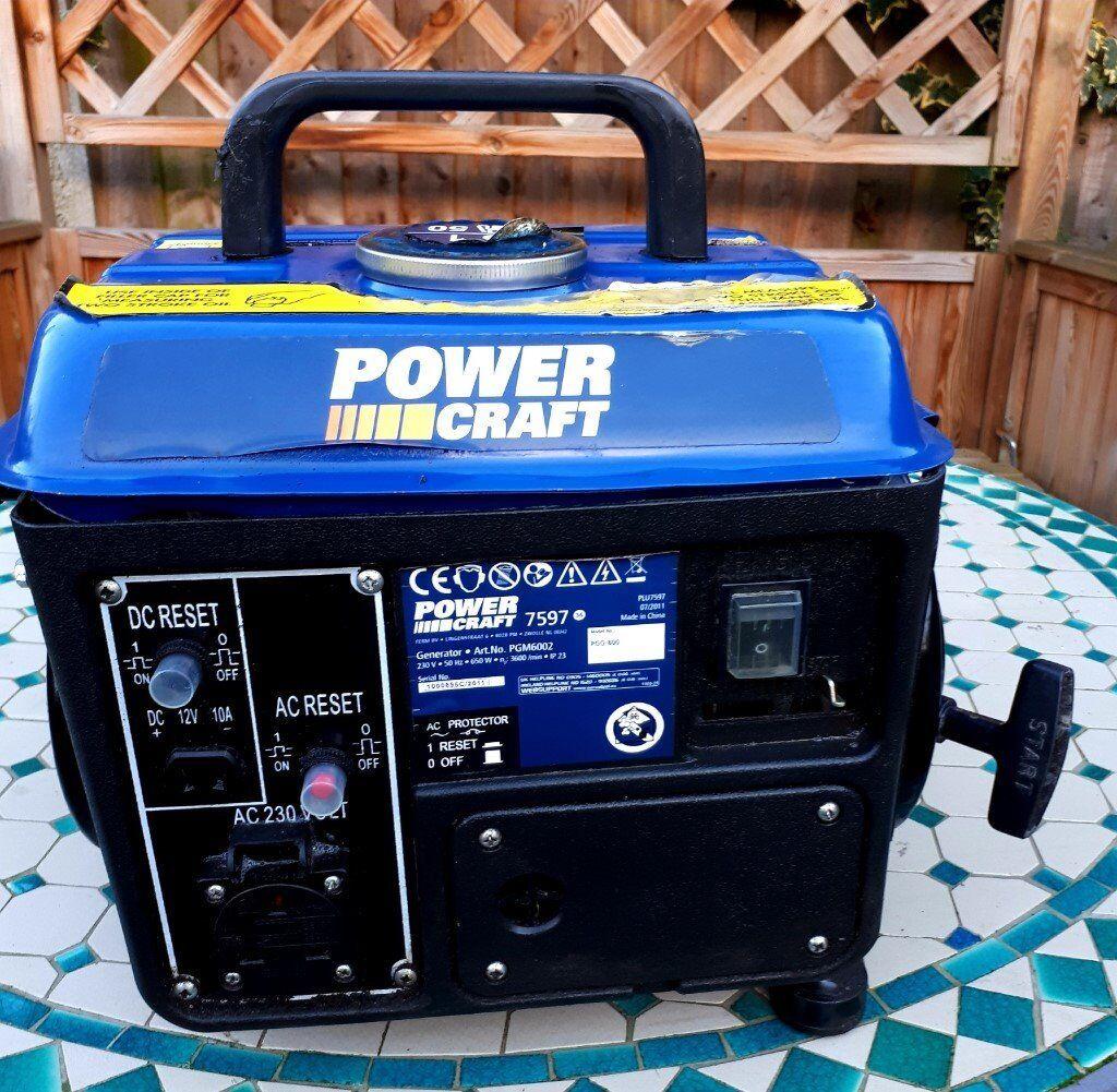 Power Craft Generator In Beeston Nottinghamshire Gumtree On Reset Chris