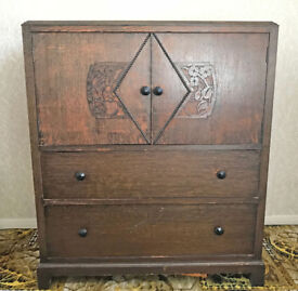 Antique Cupboard - Chest of Drawers