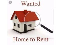 2/3 bedroom house wanted £500pcm Max