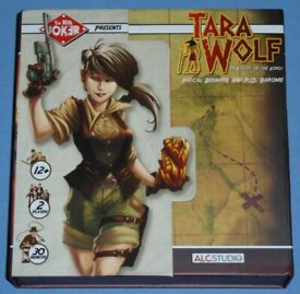 'Tara Wolf In Valley Of The Kings' Card Game (as new)
