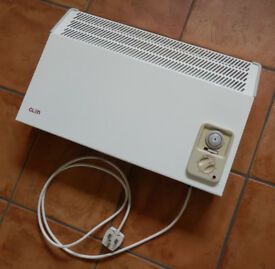 Plug-in electric wall mounted convector heater