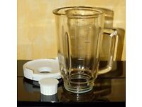 Kenwood Blender Glass Jug replacement with lid for FP700 FP800 FP900 - unused