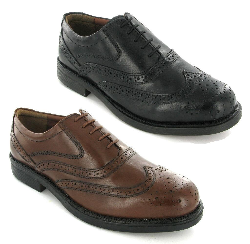 Scarpe eleganti sportive uomo in pelle nere modello Depop