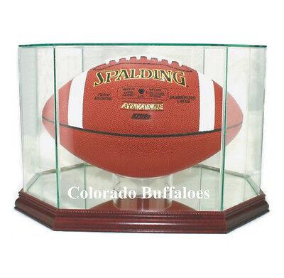 (Colorado Buffaloes F/S Football Display Case NCAA)