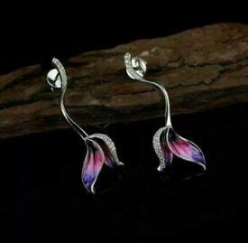 Fish Tail Shaped Earrings