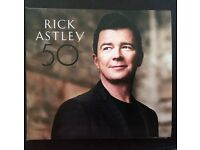 Rick Astley 50 the latest album by Rick