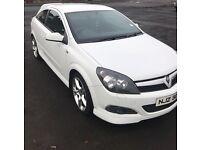 Vauxhall Astra White Dec 07 1.9 SRI CDTI 150BHP