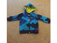 Boys Nike Hooded Jacket 6-9 months