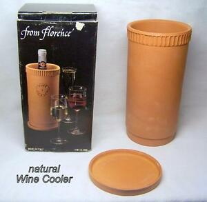 Wine Cooler, Italy, no ice or power needed, cools 5 hours