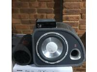 Bundle sale!! Radio and 2 subwoofers! £110