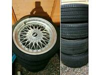 5x110 BBS wheels (vauxhall astra)