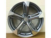 """18"""" alloy wheels audi vw - brand new"""