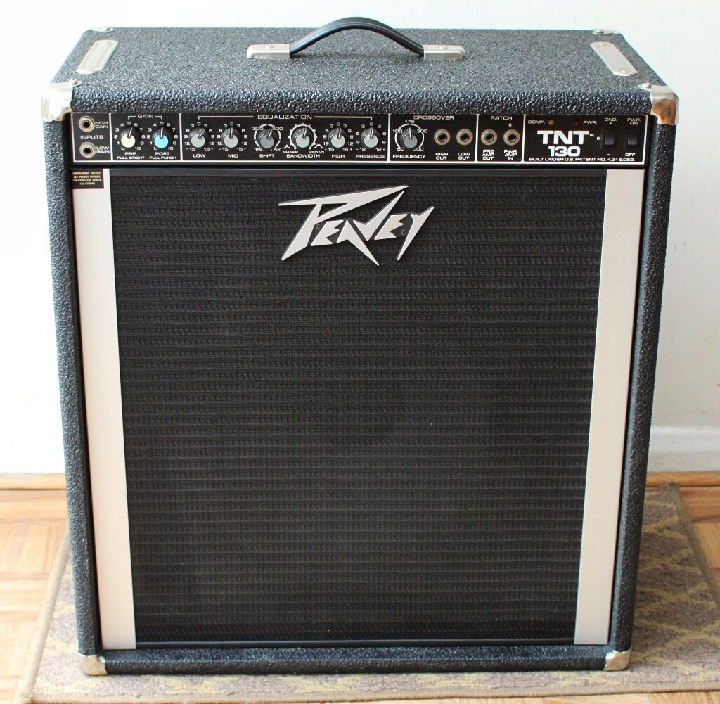 peavey tnt 130 bass amplifier with 15 speaker in twickenham london gumtree. Black Bedroom Furniture Sets. Home Design Ideas