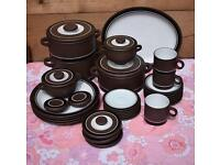 Hornsea Contrast Part Dinner & Tea Service JOB LOT retro vintage