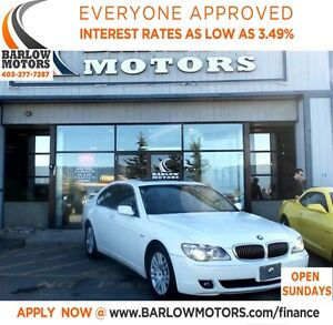 2006 BMW 7 Series i**AMVIC INSPECTION & CARPROOF PROIVED!