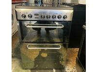 Indesit ceramics electric cooker 60cm very nice beautiful condition