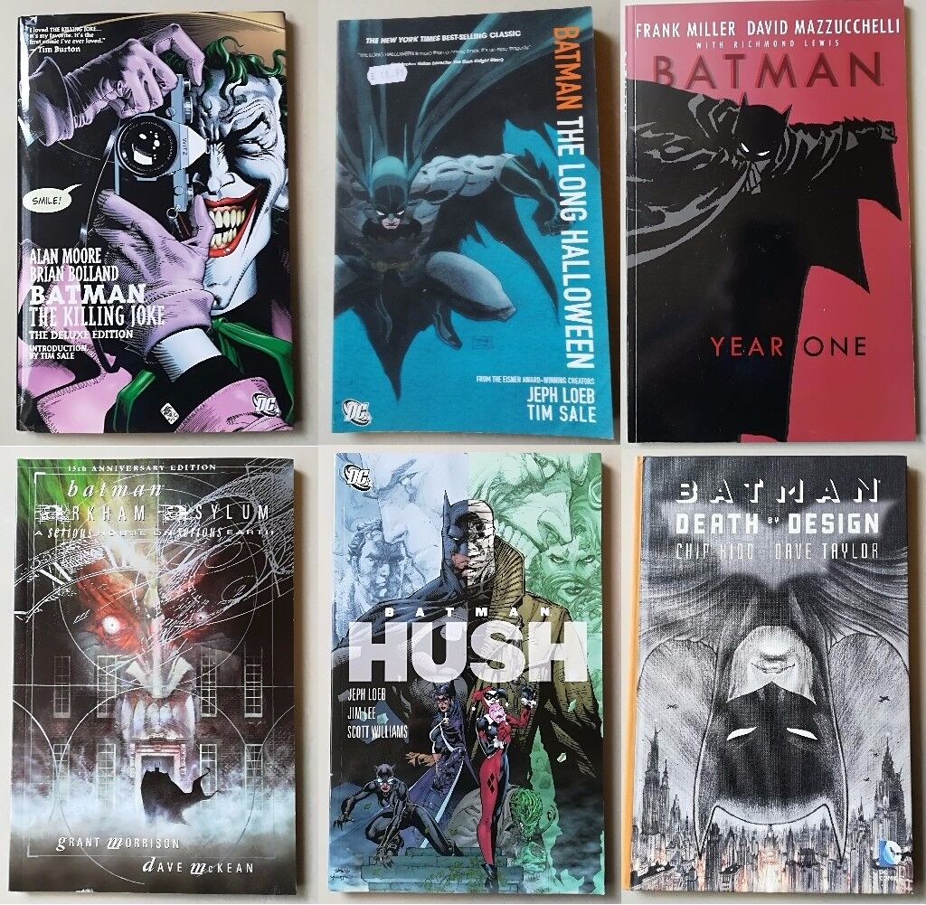 batman graphic novel collection | in peckham, london | gumtree