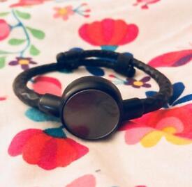 Michael Kors Access Black Fitness Tracker Bracelet.