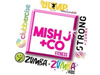 Zumba, Clubbercise and Strong by Zumba