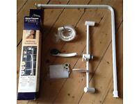 Shower Accessory set and Shower Rail