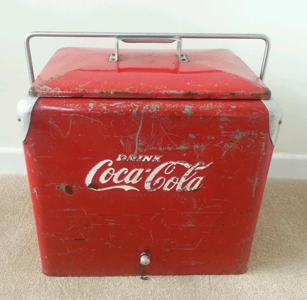 Man Cave Items For Sale Gumtree : Coca cola retro fridge buy sale and trade ads great prices