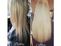 Hair extensions from £150