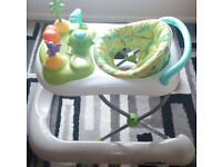 2 in 1 activity Walker - 2 months old - Available in working condition with Box.