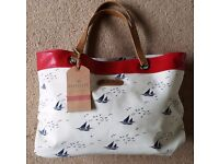 Brakeburn Handbag with Boat Design (NEW WITH TAG)