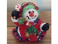 Christmas in July Snowman Hanging Christmas Tree Decoration