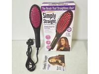 Heated hair brush!