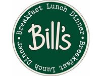 Breakfast, Grill and Prep Chefs - Bill's Restaurants - New Opening, Sevenoaks