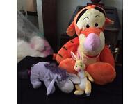 Tigger, Rabbit & Eeyore