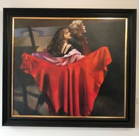 Robert Lenkiewicz The Dance Giclee on Canvas Limited Edition