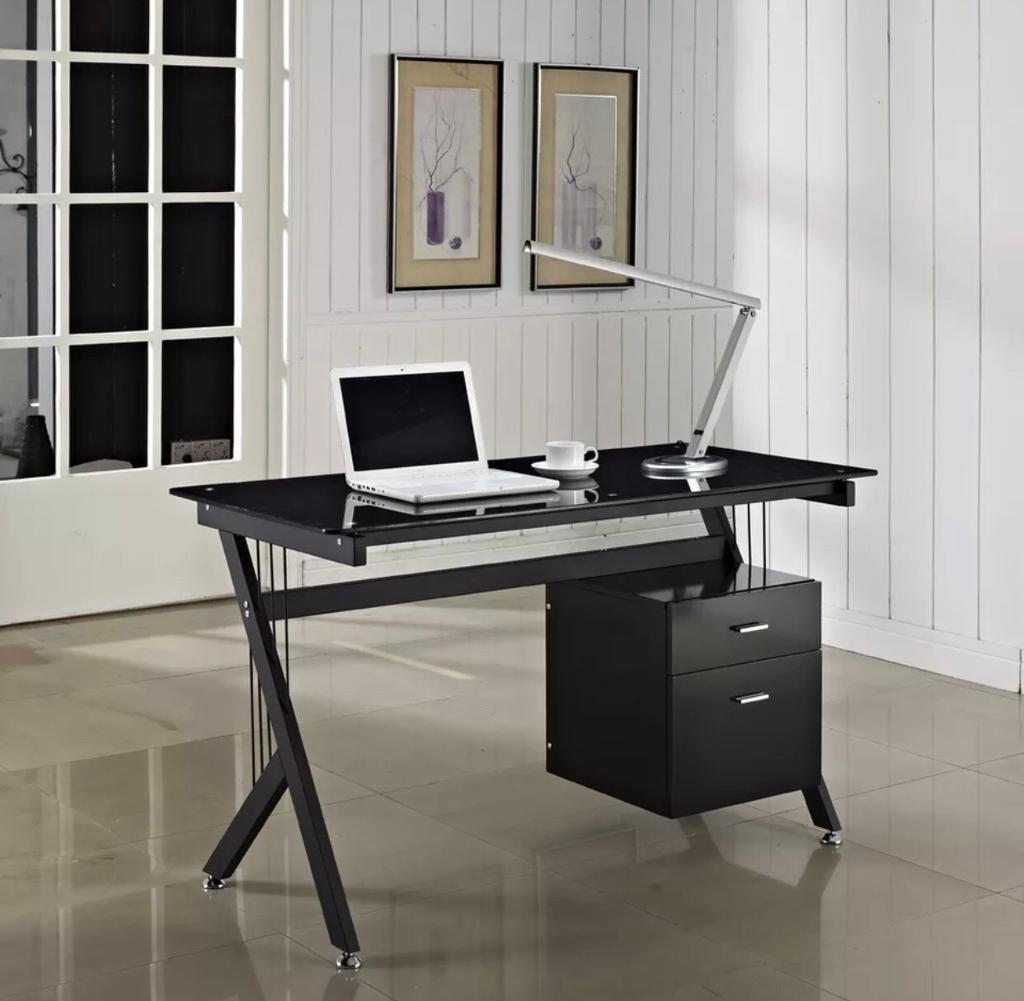 Glass desk for home Office (second hand)