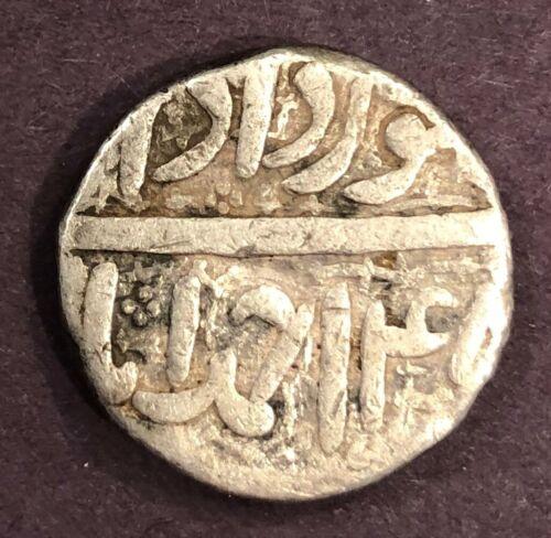 India - Mughal, Muhammad Akbar, Silver Rupee, KM# 93.2, IE45?, XF, 11.24g