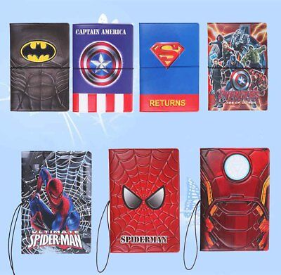 Batman Children's Kids Passport Cover Holder Protector Gifts For Boys and Girls](Kids Passports)