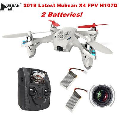 Hubsan X4 H107D FPV Drone 480P HD Camera 5.8G 6 Axis Live LCD RC Quadcopter RTF