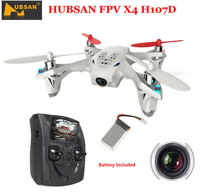 Hubsan X4 H107D 5.8G FPV RC Quadcopter Drone W/480P LED 4.3