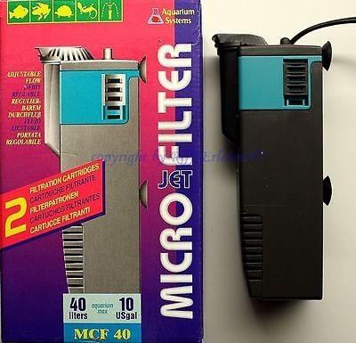 Micro Jet Filter MCF 40 Innenfilter Nano für Aquarien Terrarien