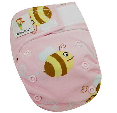 Kawaii Baby Newborn Reusable Cloth Diaper Pure & Natural 6 -