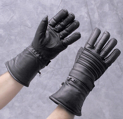 Hatch Leather Guantlet Thinsulate Lined Winter Riding Gloves - Size Small Hatch Black Winter Glove