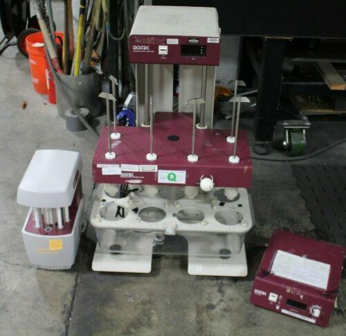 Distek 2100A Dissolution System W/ Syringe Pump& TCS 0200 Temperature Controller