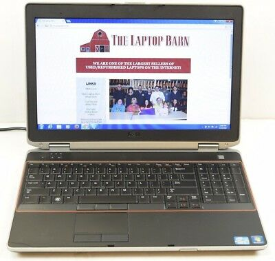 Dell Latitude E6520 Laptop i5  2.5 GHz 4GB 320GB 15.6